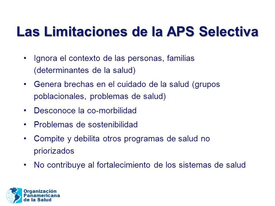 Las Limitaciones de la APS Selectiva