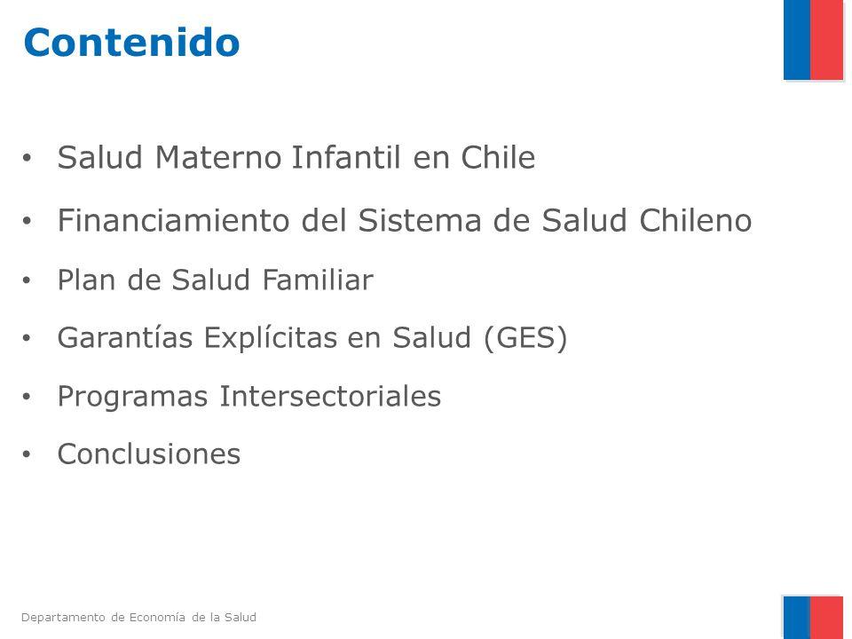 Contenido Salud Materno Infantil en Chile