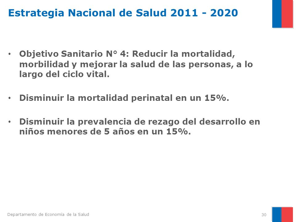 Estrategia Nacional de Salud 2011 - 2020