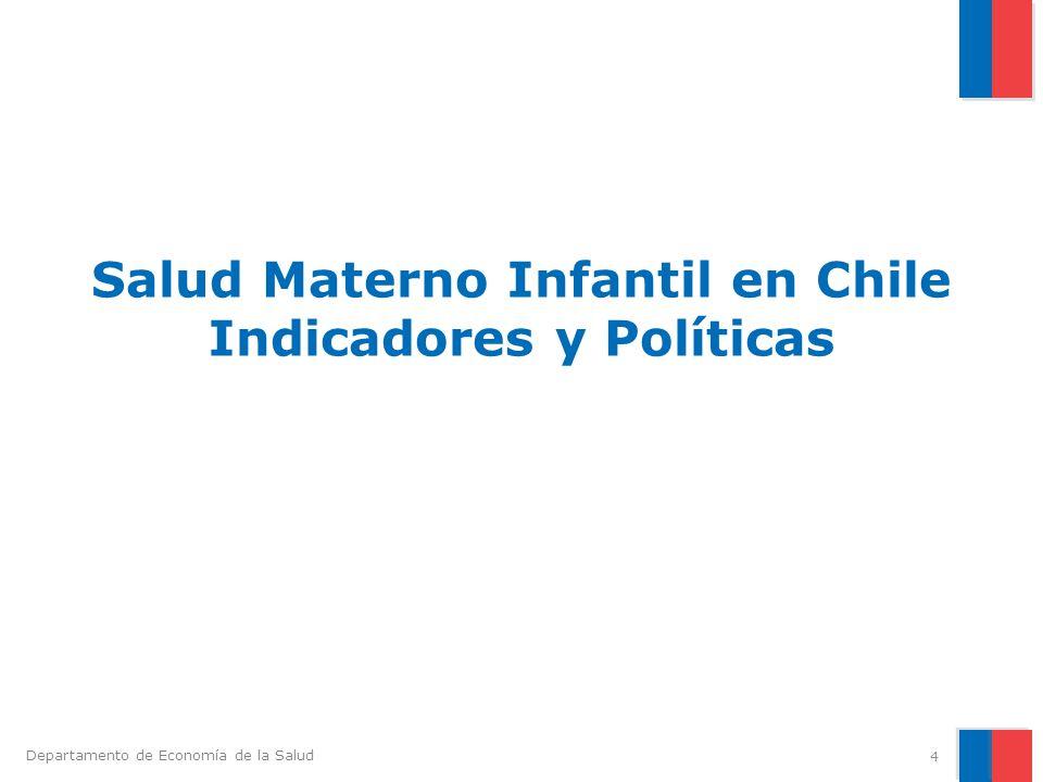 Salud Materno Infantil en Chile Indicadores y Políticas