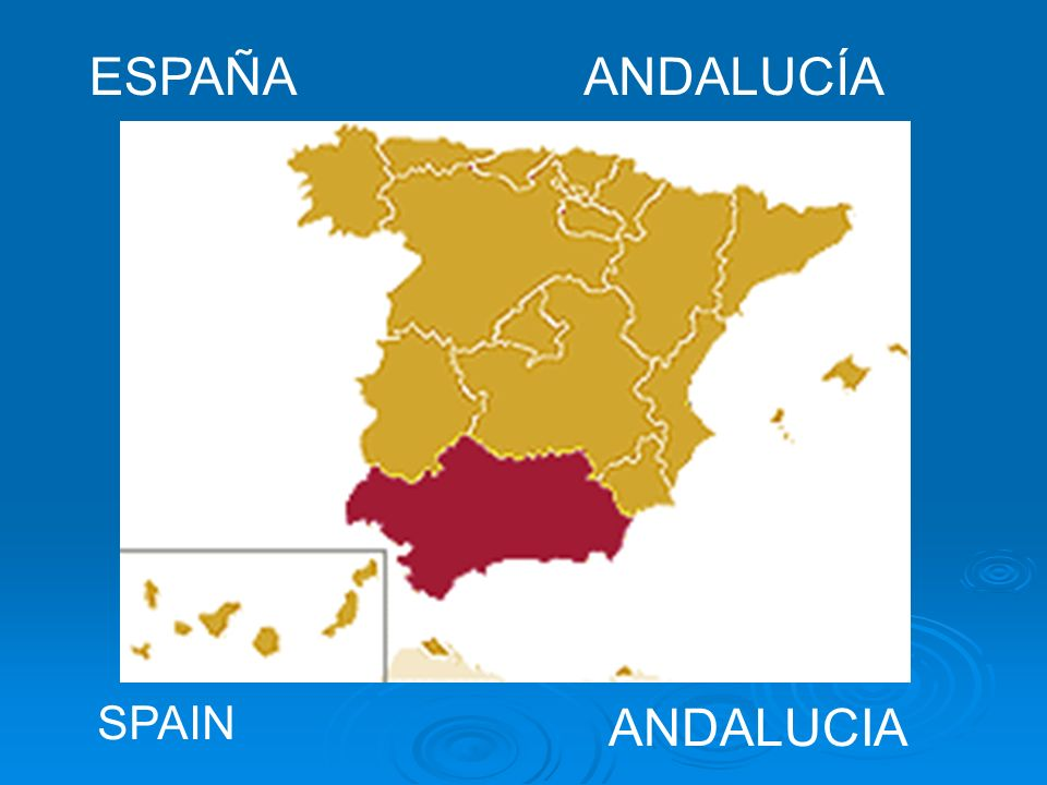 ESPAÑA ANDALUCÍA SPAIN ANDALUCIA