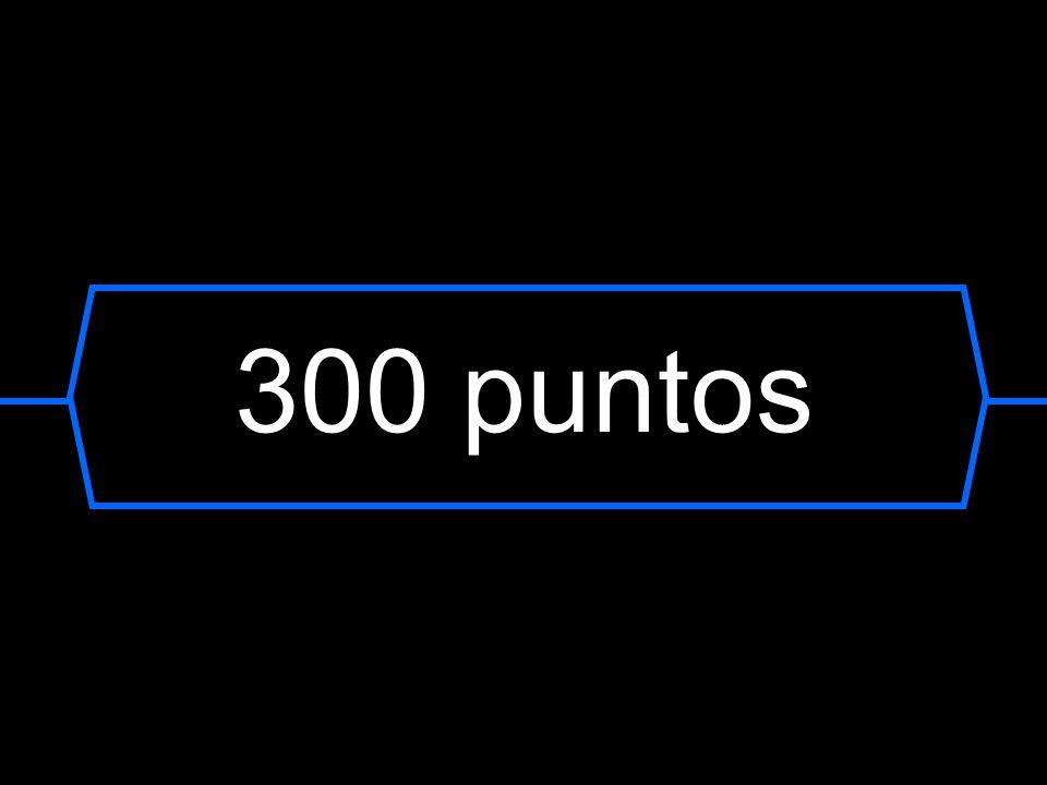 300 puntos