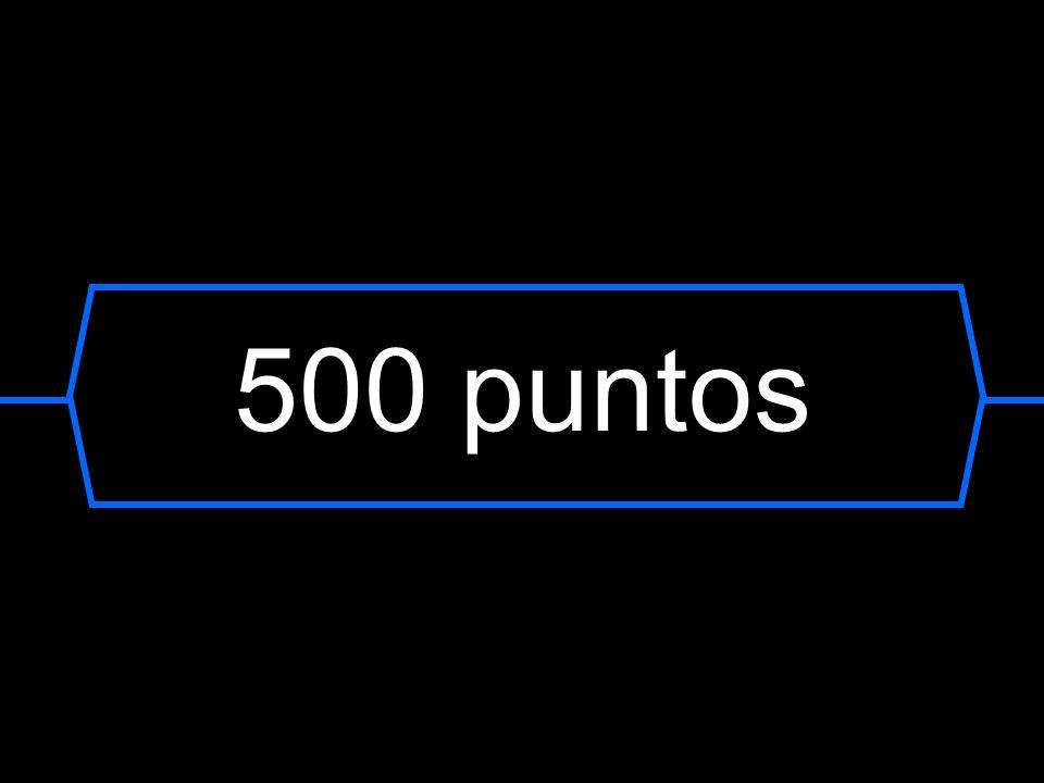 500 puntos