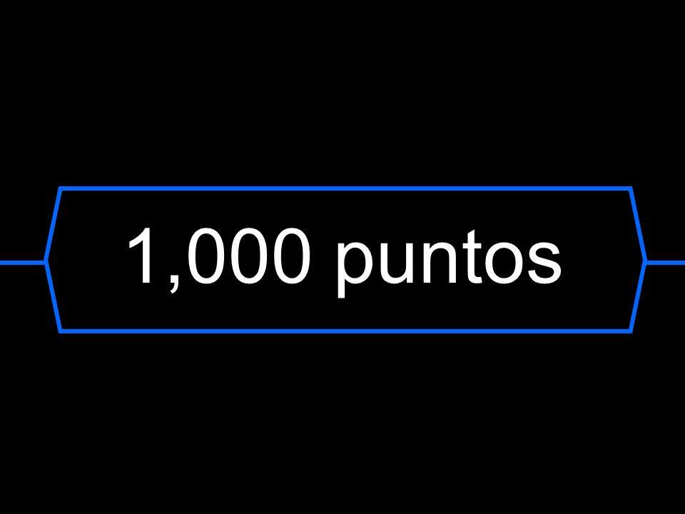 1,000 puntos