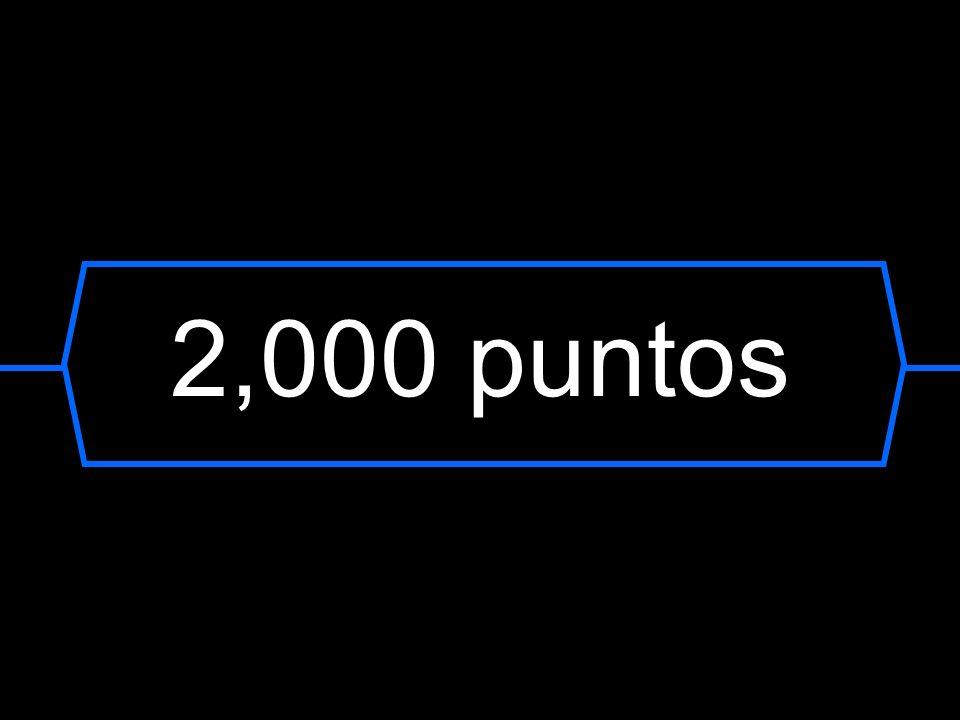 2,000 puntos