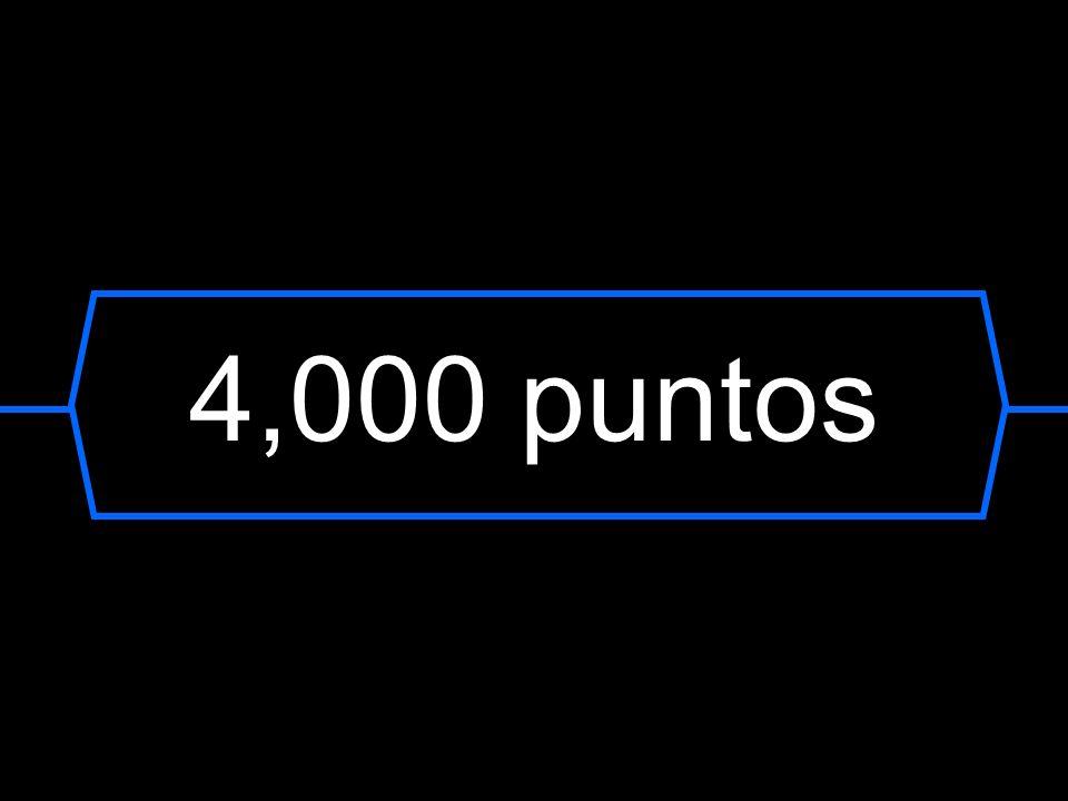 4,000 puntos