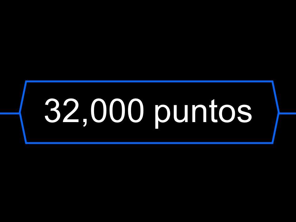 32,000 puntos
