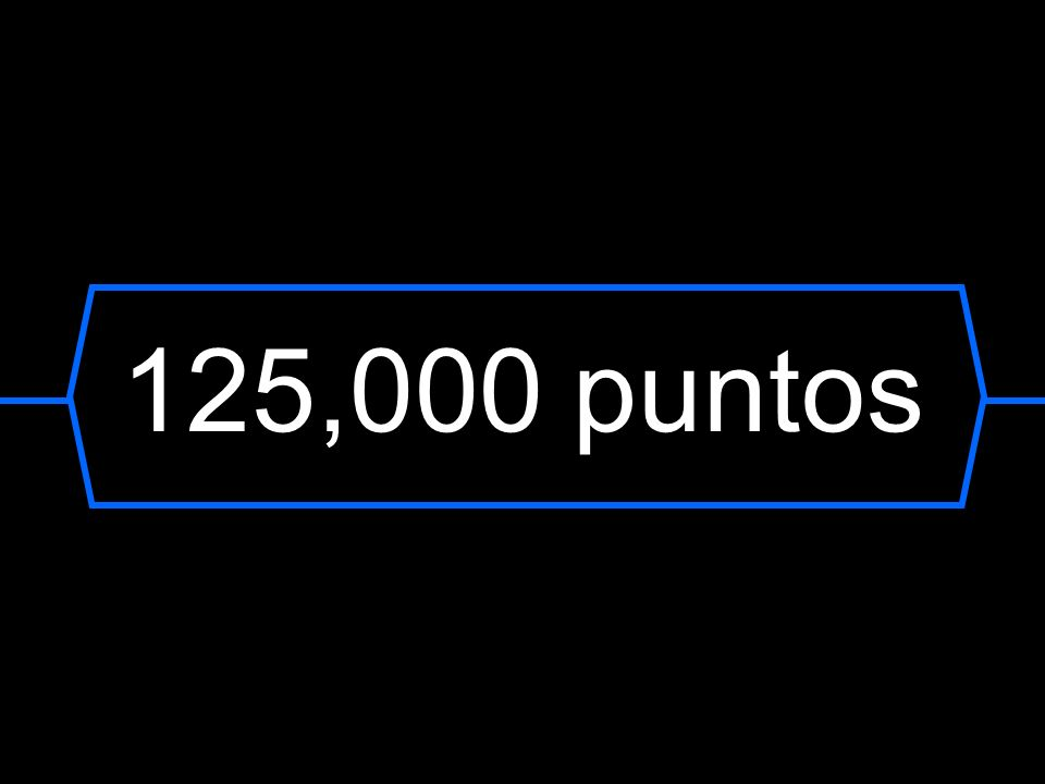 125,000 puntos