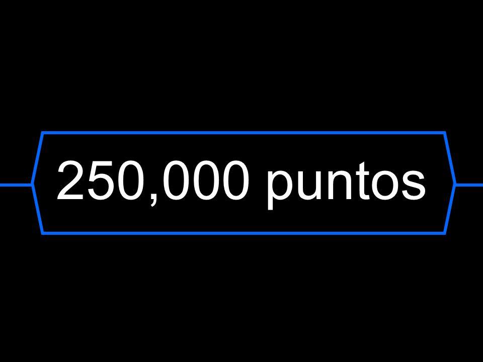 250,000 puntos
