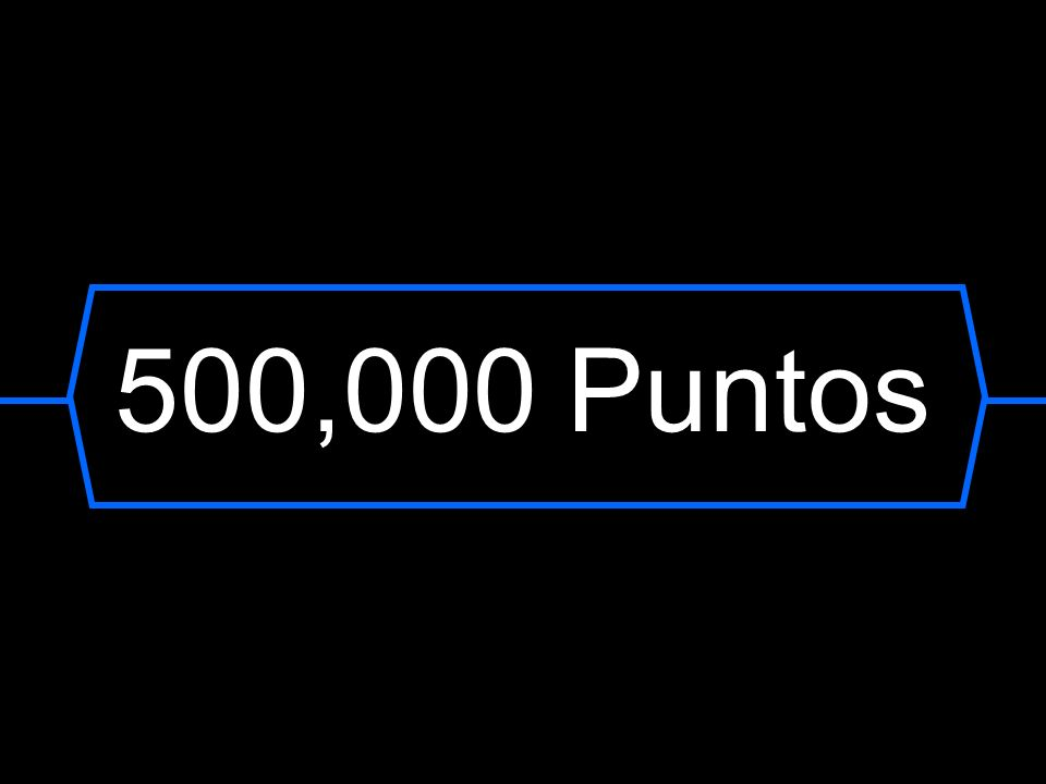 500,000 Puntos