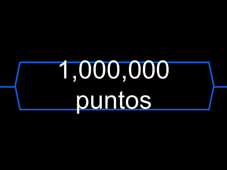 1,000,000 puntos