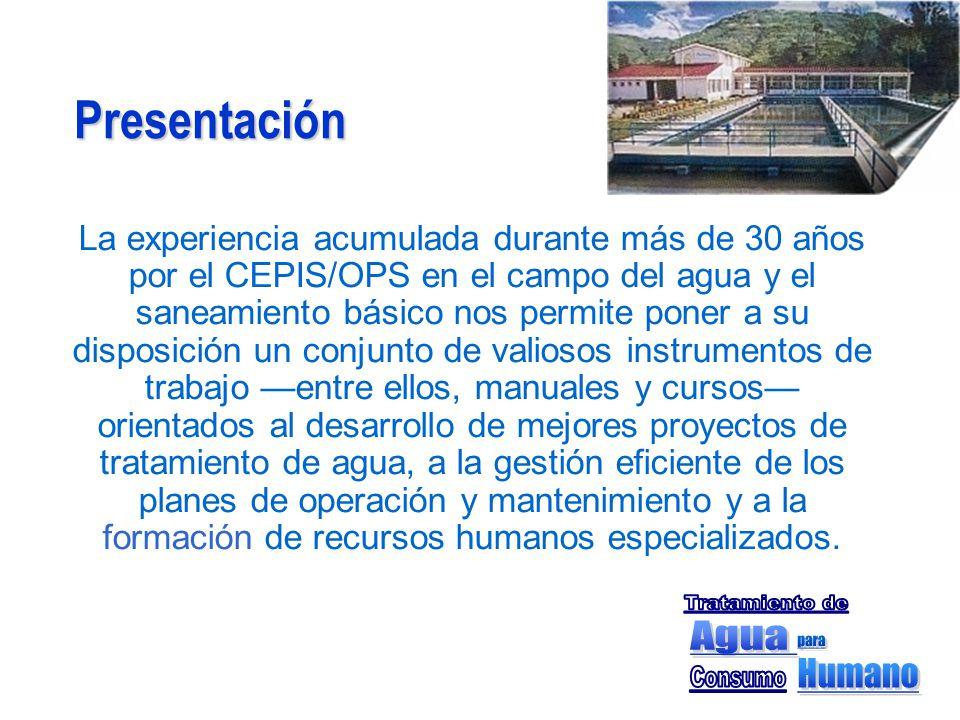 Presentación Tratamiento de Agua para Humano Consumo