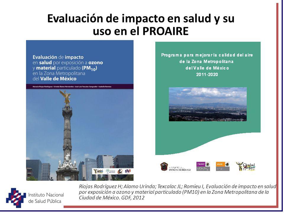 Evaluación de impacto en salud y su