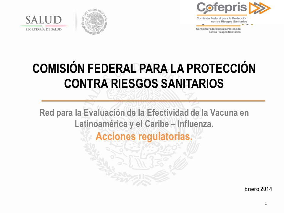 COMISIÓN FEDERAL PARA LA PROTECCIÓN CONTRA RIESGOS SANITARIOS