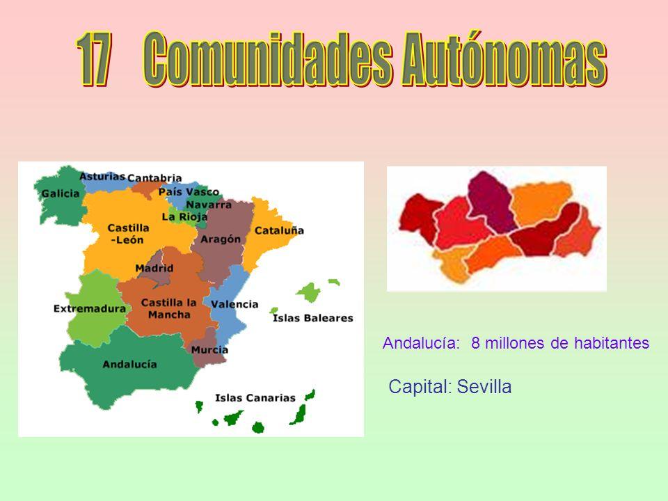 17 Comunidades Autónomas