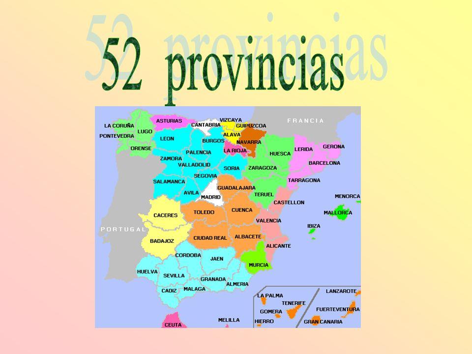 52 provincias