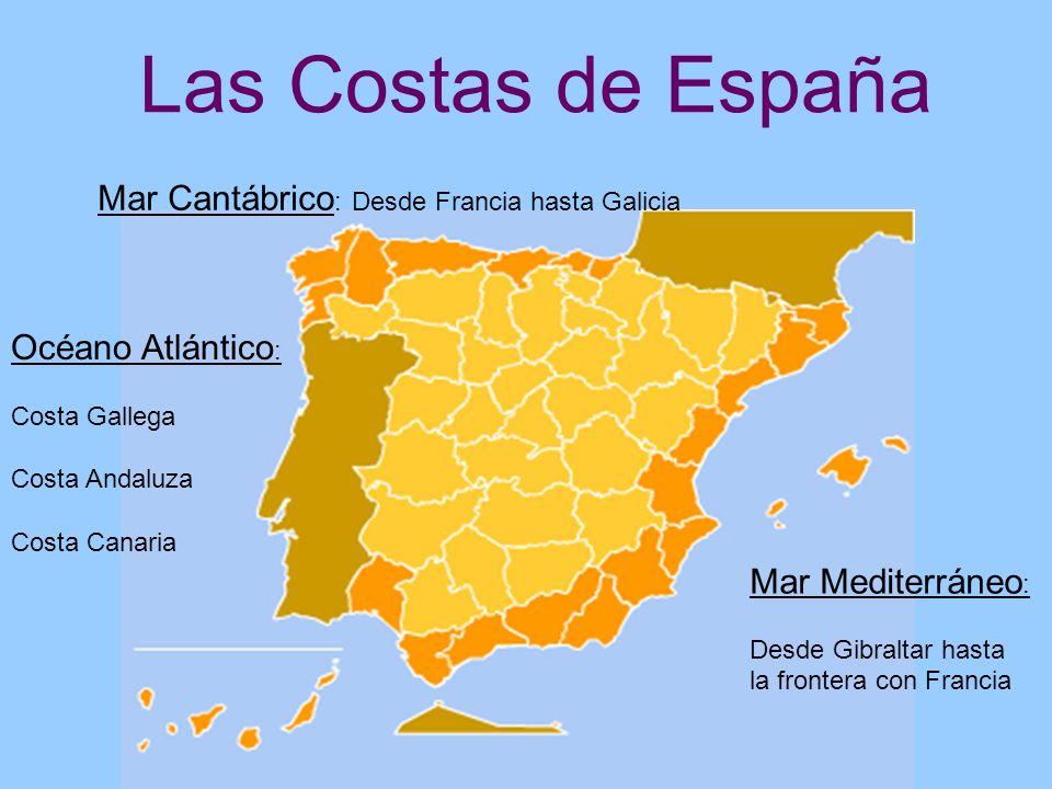Las Costas de España Mar Cantábrico: Desde Francia hasta Galicia