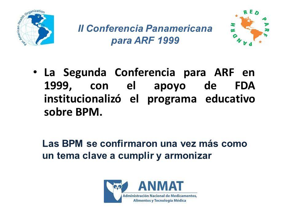 II Conferencia Panamericana para ARF 1999