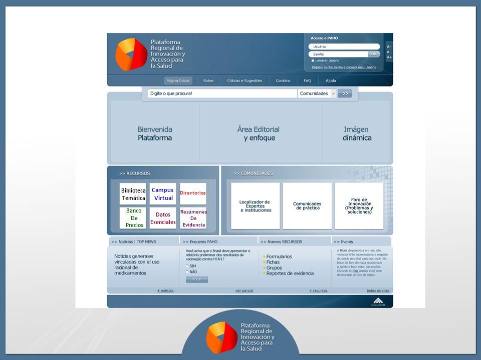 Campus Virtual Biblioteca Temática Banco Datos De Esenciales Precios