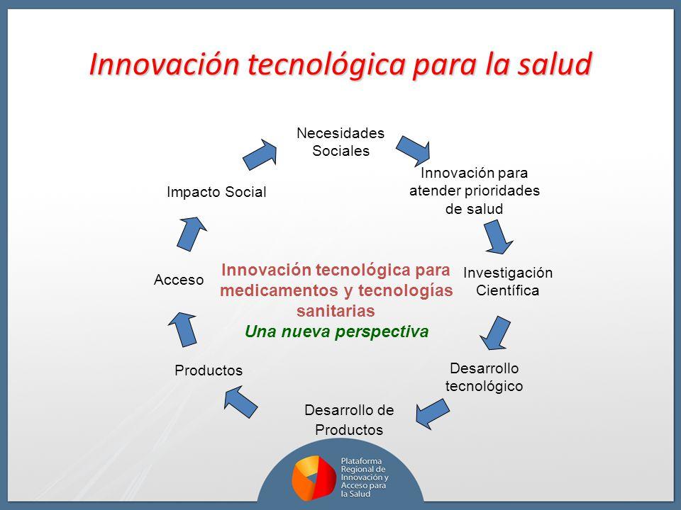 Innovación tecnológica para la salud