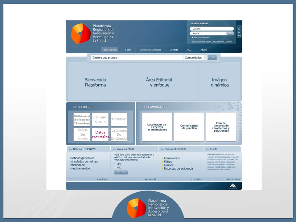 Campus Virtual Banco Datos De Esenciales Precios Directorios Resúmenes