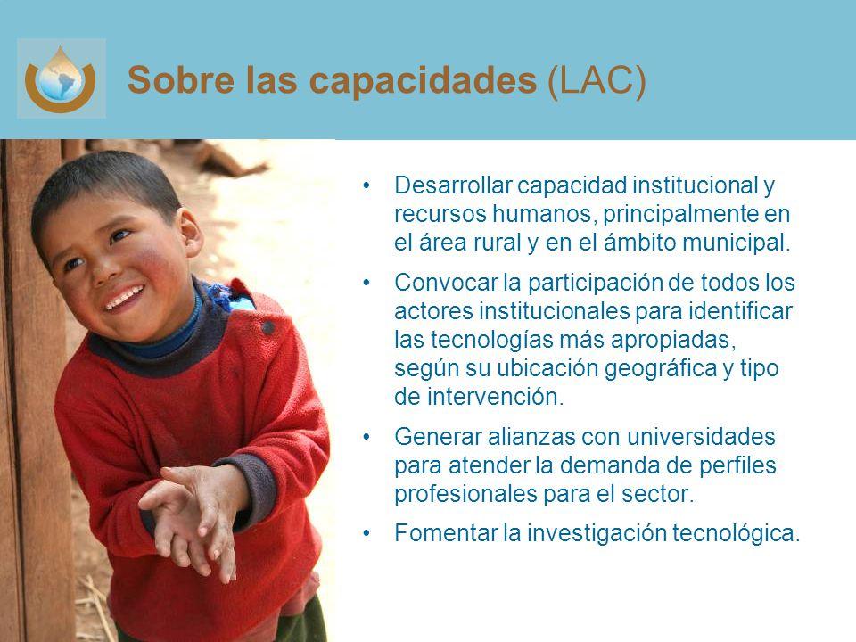 Sobre las capacidades (LAC)