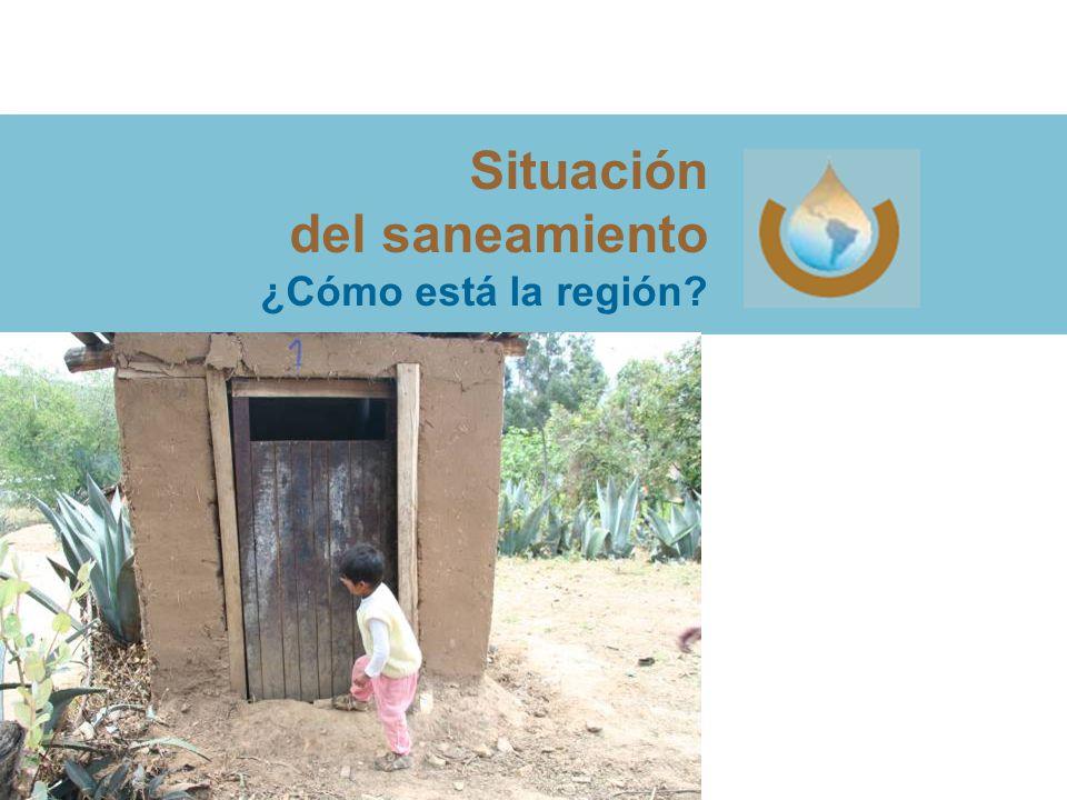 Situación del saneamiento ¿Cómo está la región
