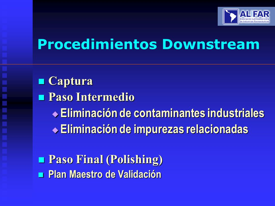 Procedimientos Downstream