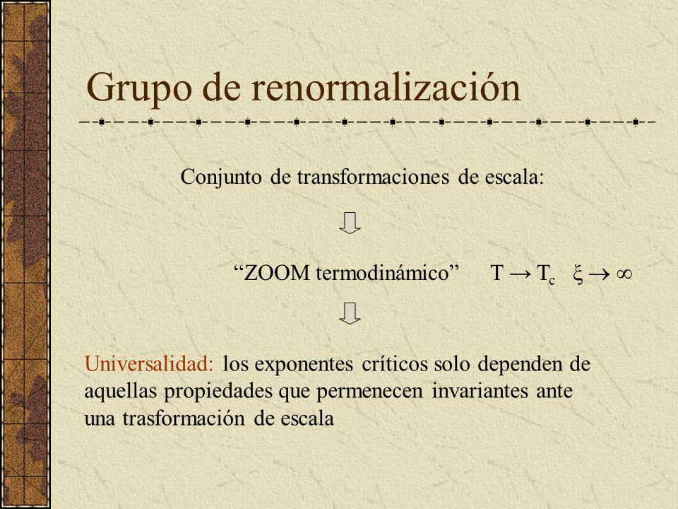 Grupo de renormalización