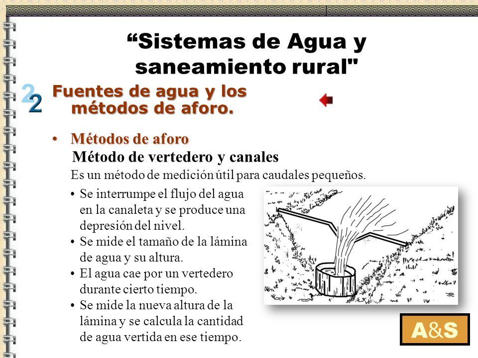 Sistemas de Agua y saneamiento rural