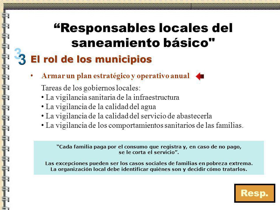 El rol de los municipios