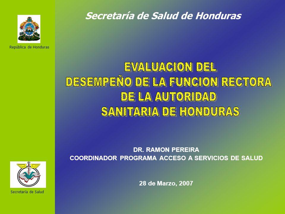 Secretaría de Salud de Honduras