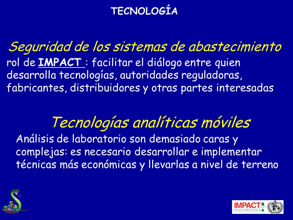 Tecnologías analíticas móviles