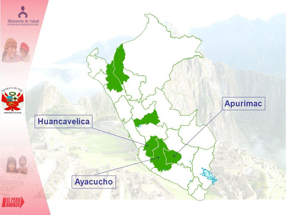 Huancavelica Ayacucho Apurímac
