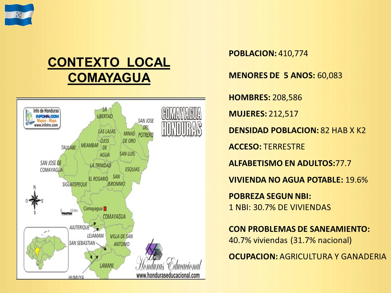 CONTEXTO LOCAL COMAYAGUA