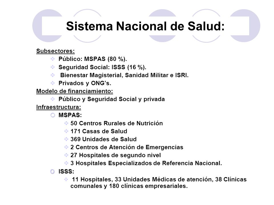 Sistema Nacional de Salud: