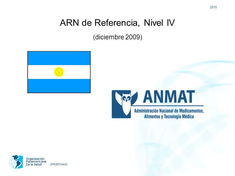 ARN de Referencia, Nivel IV (diciembre 2009)