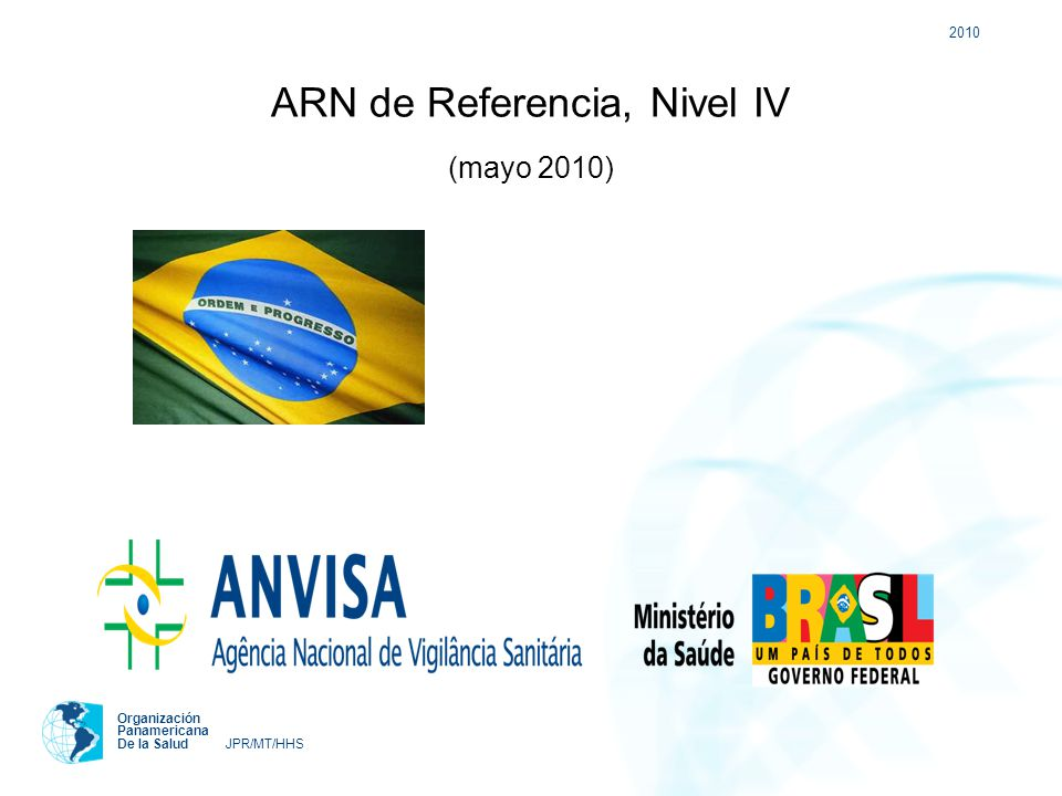 ARN de Referencia, Nivel IV (mayo 2010)