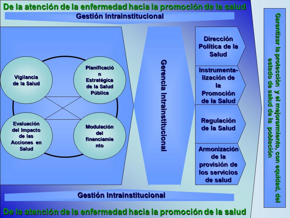 Gestión Intrainstitucional Dirección Política de la Salud
