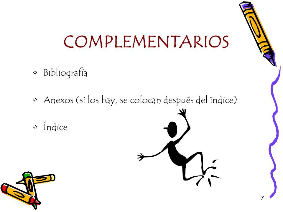 COMPLEMENTARIOS Bibliografía