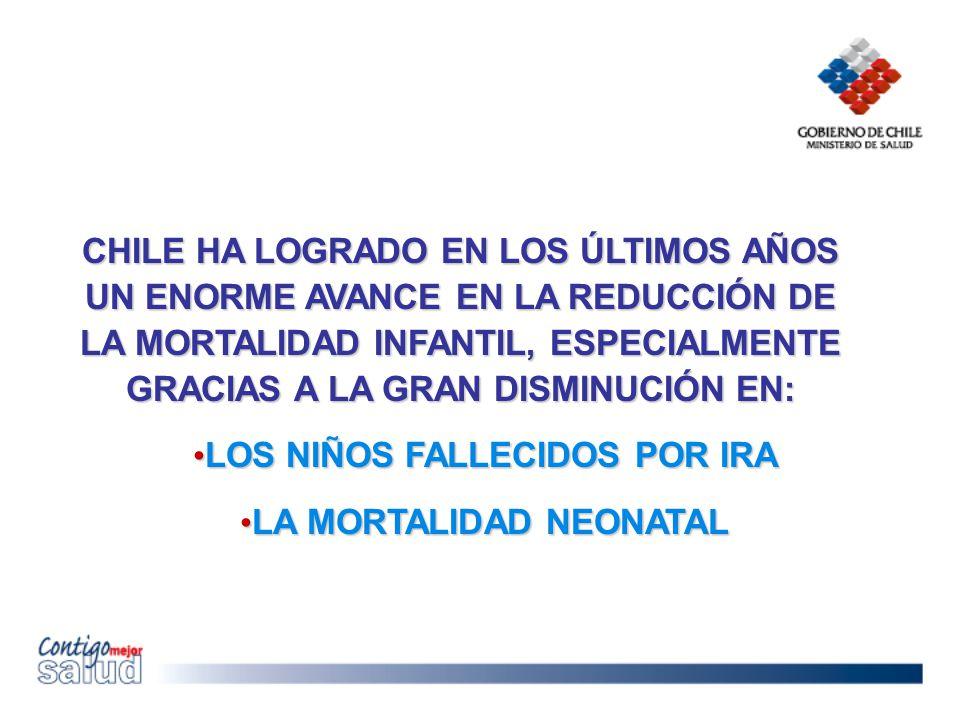 LOS NIÑOS FALLECIDOS POR IRA LA MORTALIDAD NEONATAL