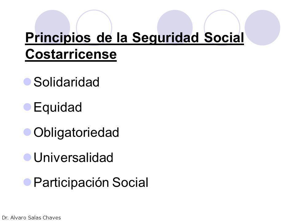Principios de la Seguridad Social Costarricense