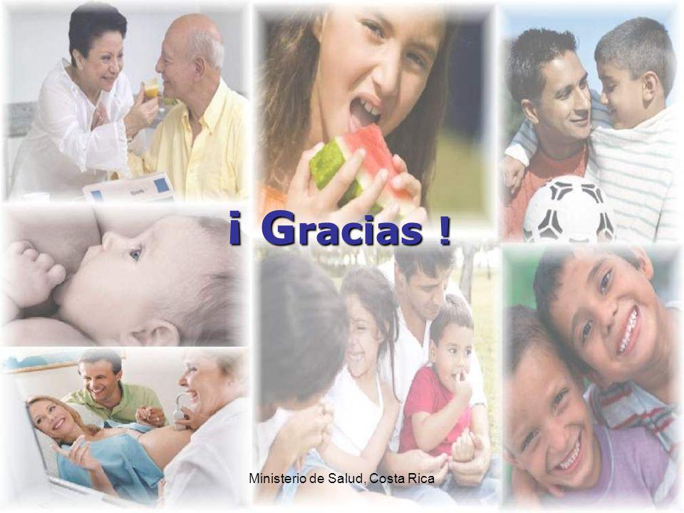 Ministerio de Salud, Costa Rica