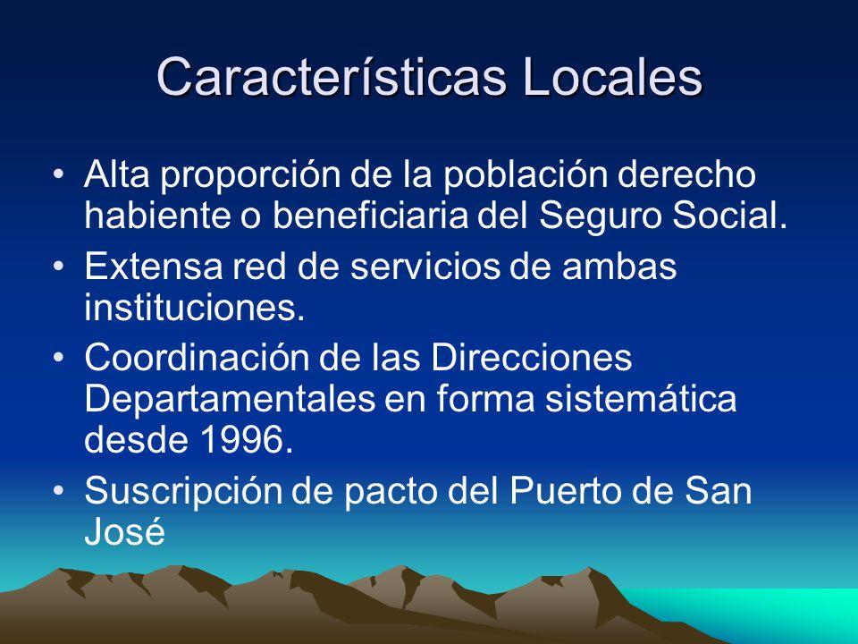 Características Locales