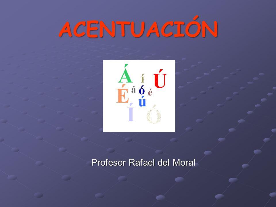 Profesor Rafael del Moral