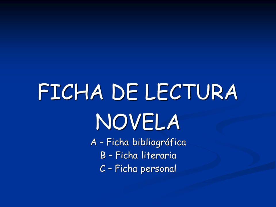 A – Ficha bibliográfica