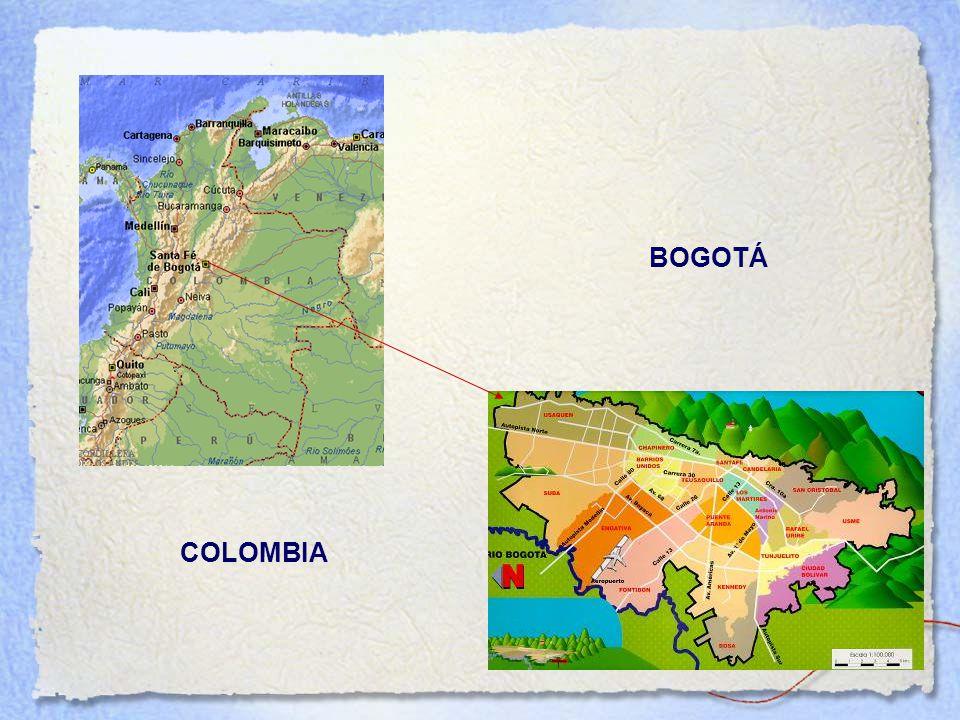 BOGOTÁ Área Urbana Área Rural COLOMBIA