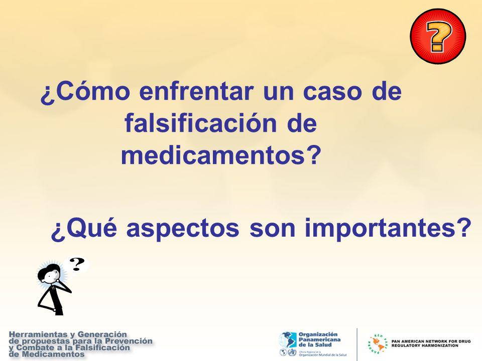 ¿Cómo enfrentar un caso de falsificación de medicamentos