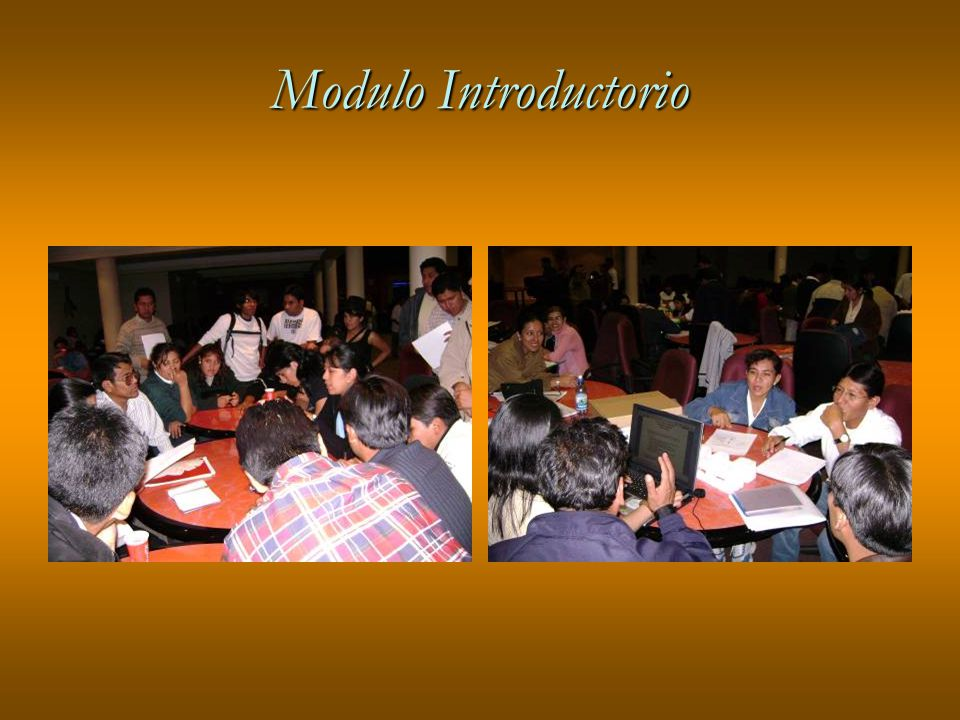 Modulo Introductorio