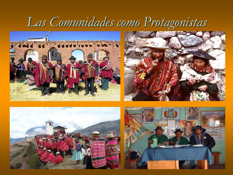 Las Comunidades como Protagonistas